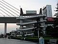 夷陵长江大桥上桥处 - panoramio.jpg