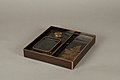 江戸時代 月梅枝蒔絵螺鈿硯箱-Writing Box with Design of Plum Blossoms and Moon MET 91 1 630 O2 sf.jpg