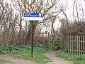 -2019-01-04 Gate on Norfolk Coast Path, Pauls Lane Car Park, Overstrand.JPG