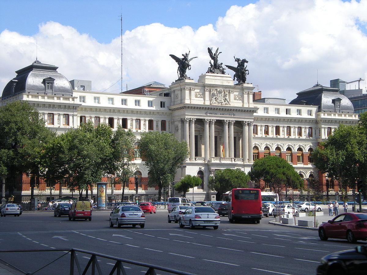 Ministerio de agricultura y pesca alimentaci n y medio for Ministerio de seguridad espana