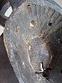 027 a1 reverse detail BWA - (BAYIRI) PLANK MASK, Burkina Faso FRONT (168.CM) (9365606118).jpg