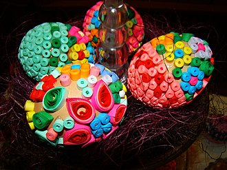 Pisanka (Polish) - Image: 05296 Easter exhibition in Nowotaniec, April 2011