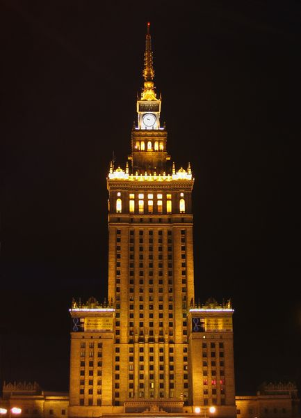 Palace of Culture and Science, Source: wikimedia.org
