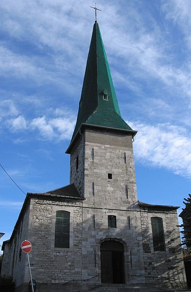 Mont-sur-Marchienne   (Belgium),  the Conversion of Saint Paul church.