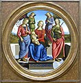 0 Tondo della Vergine col Bambino tra due sante e due angeli - Perugino.JPG