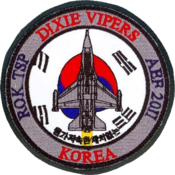 100th Expeditionary Fighter Squadron - Emblem
