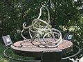 1090 Roßauer Lände - Summer Stage-Skulpturengarten - Raumlinien (4) von Manfred Wakolbinger 2017 IMG 4889.jpg