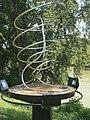 1090 Roßauer Lände - Summer Stage-Skulpturengarten - Raumlinien (5) von Manfred Wakolbinger 2017 IMG 4896.jpg