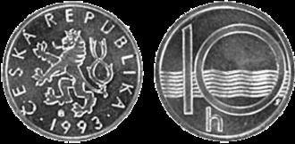 Czech koruna - Image: 10h CZK