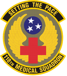 118 Medical Sq emblem.png