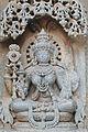 12th century Meditating Lakshmi Chennakesava temple at Somanathapura, Karnataka, India.jpg