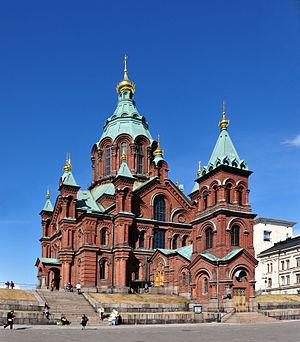 Uspenski Cathedral, Helsinki - Image: 14 08 13 helsinki Ralf R N3S 1244a 006