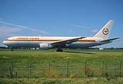 Boeing 767-300 der Cameroon Airlines