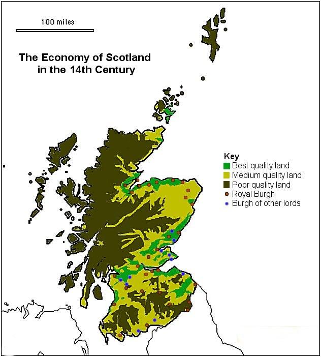 14thC Scottish Economy