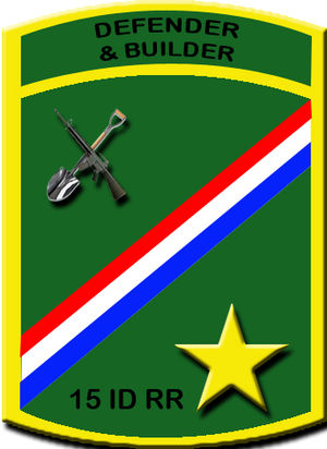15th Infantry Division (Philippines) - Unit Seal of the 15th Infantry Division (Ready Reserve)