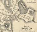 1635 BendellsCove Boston map byGeorgeLamb.png
