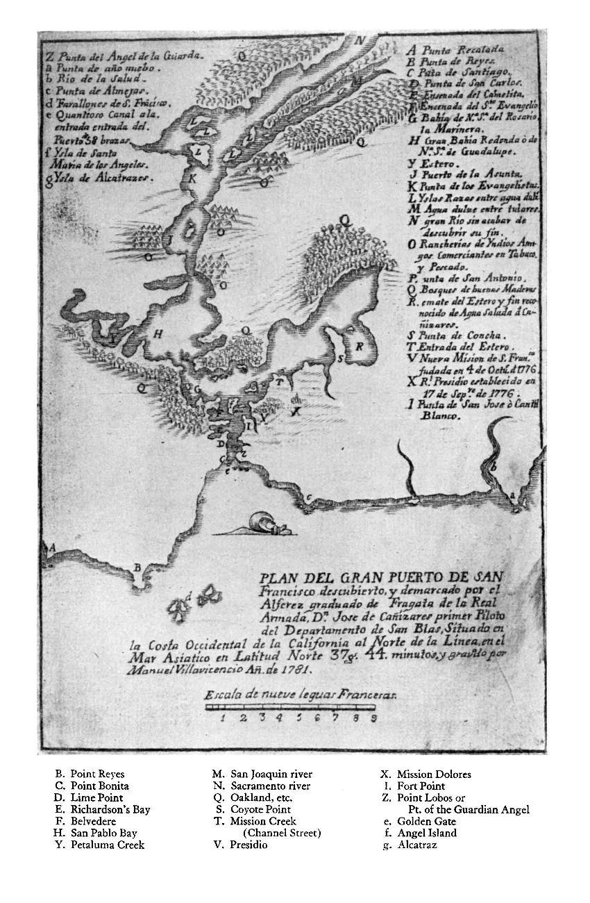 1781 Ca%C3%B1izares Map of San Francisco Bay.pdf