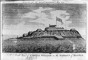 1789 CastleWilliam BostonHarbor MassachusettsMagazine