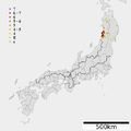 1804 Kisakata earthquake intensity.png