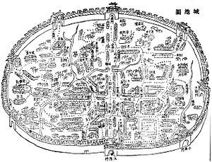 1807 Taiwan city fortifications