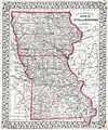 1874 Mitchell Map of Iowa and Missouri - Geographicus - IOMS-m-1874.jpg