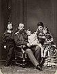 1878. Император Александр III с женой и детьми.jpg