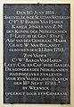 18 June 1815 – Waterloo – St Joseph's Church, Tablet Left, 5.jpg