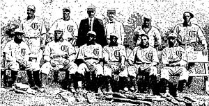 Cuban X-Giants - 1904 Cuban X-Giants