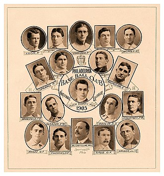 1905 Philadelphia Phillies season - The 1905 Philadelphia Phillies