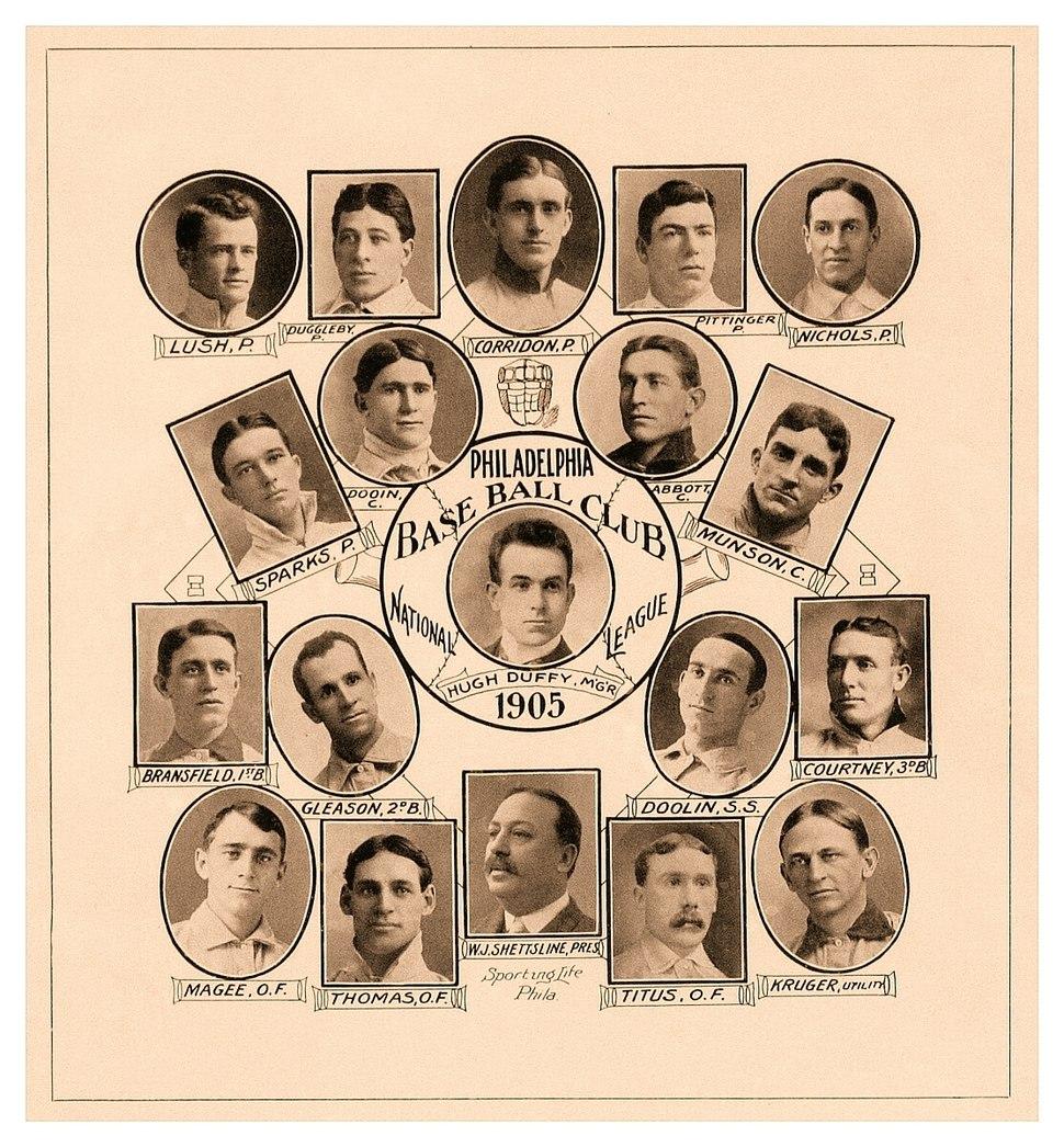 1905 Philadelphia Phillies