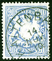 1910 Bayern 20Pfg Kaltenbach Mi57y.jpg