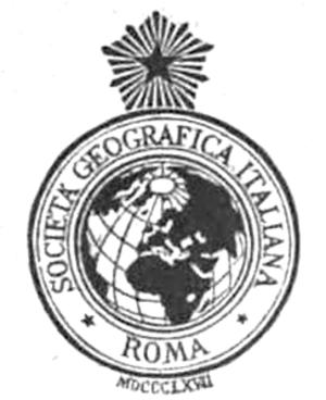 Società Geografica Italiana - Emblem of the Società Geografica Italiana