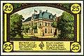 1921-06-01 Gutschein der Stadt Eldagsen, 0,25 Mark 25 Pfennig, gültig bis 1. Februar 1922, b, Spruch Papierlappen, Ansicht Altes Rathaus.jpg