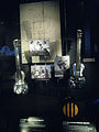 1940 & 1935 Rickenbacker Electro Spanish Model B, and Amplifier, Instruments seaking amplification exhibit, EMP Museum.jpg