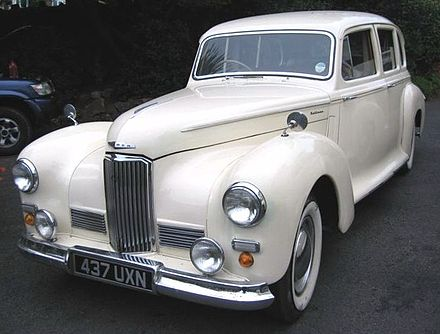 Pullman limousine on a Humber chassis 1949 1949 Humber Pullman MkII.JPG