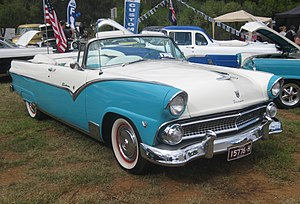1955 Ford - Image: 1955 Ford Fairlane Sunliner