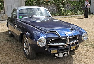 Pegaso Z-102 - 1955 Pegaso Z-102B Touring Berlinetta Superleggera at the Goodwood Festival of Speed