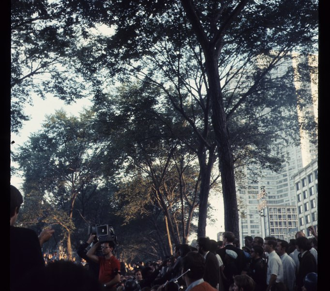 1968 Democratic National Convention, Chicago. Sept 68 C15 10 1317 , Photo by Bea A Corson, Chicago. Purchased at estate sale in 2011 by Victor Grigas Released Public Domain.tif