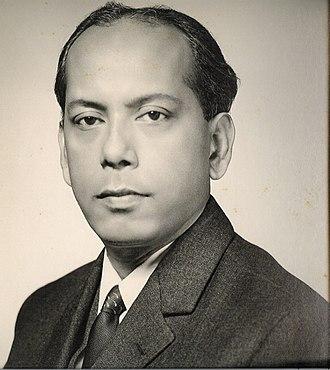 Abul Fateh - Abul Fateh in 1969, in his official photo as Calcutta High Commissioner