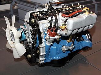 Toyota M engine - 1973 Toyota M-E engine.