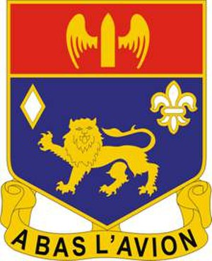 197th Field Artillery Regiment - Image: 197 FA Rgt DUI