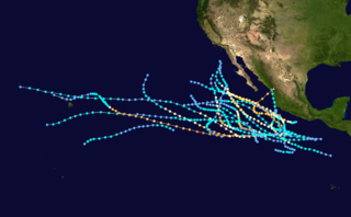 1983 Pacific hurricane season hurricane season in the Pacific Ocean