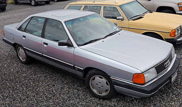 1990 Audi 100 front (USA)