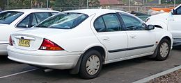 1999 Ford Falcon (AU) Forté sedan (2010-06-02).jpg