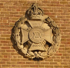 19th Battalion, London Regiment (St Pancras) - Badge of the 19th London Regiment from the Albany Street drill hall.