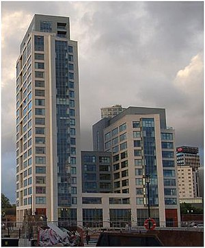 1 Princes Dock - Image: 1 princes dock