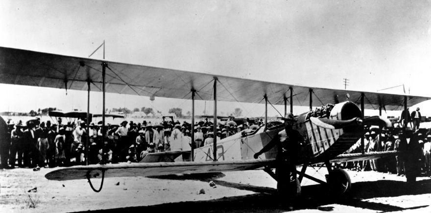 1st Aero Squadron Curtiss JN-3 No 43
