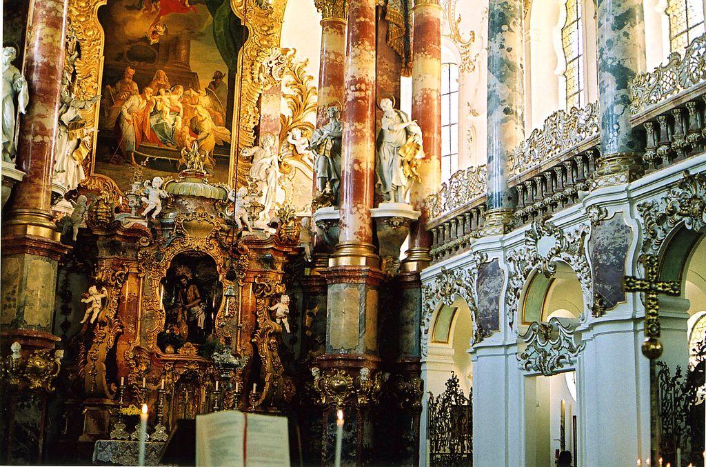 2004-08-02 Wieskirche altar & south gallery
