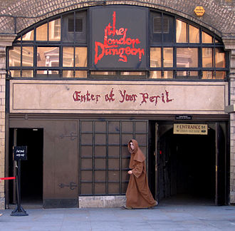 London Dungeon - Entrance to the old London Dungeon building.