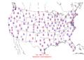 2006-03-02 Max-min Temperature Map NOAA.png